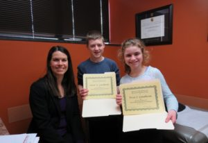 On January 3, 2014, Soren and Tessa Lundheim were the 100th and 101st peanut-allergy patients to complete Dr. Whitney Molis' peanut oral immunotherapy (OIT) program at Pediatric and Adult Allergy in Des Moines, Iowa.