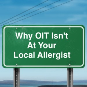 OIT not at your local allergist