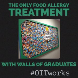 wall of graduates